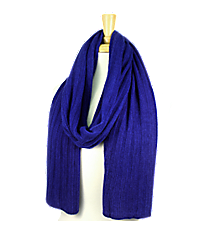Royal Blue Long Knit Scarf #EANT8102-RB