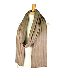 Taupe Long Knit Scarf #EANT8102-TP
