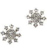 Crystal Snowflake Earrings #AE0679-RHC