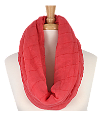 Sheer Coral Infinity Scarf #EASC8024-CO