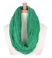 Sheer Green Infinity Scarf #EASC8024-MT