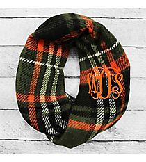 Autumn Nights Infinity Scarf, Olive #EASC8457-OL