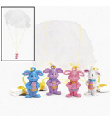 12 Mini Easter Paratroopers #37/280-P