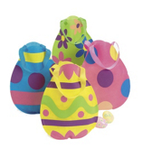 One Dozen Egg-Cellent Easter Egg Tote Bags #37/5201