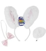 One 3-Piece Bunny Costume Accessories Set #85/2196