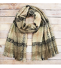 Keep Me Cozy Scarf, Beige #EASW8425-BE