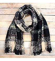 Keep Me Cozy Scarf, Navy #EASW8425-NV