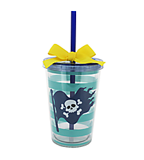 Pirate Kid's 10 oz. Double Wall Tumbler with Straw #F126412