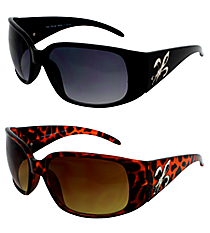 ONE PAIR OF DESIGNER LOOK SUNGLASSES #FDL2982