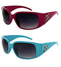 ONE PAIR OF DESIGNER LOOK SUNGLASSES #FDL2982-R