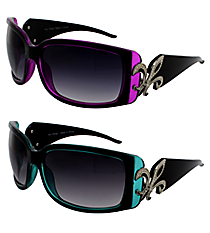 ONE PAIR OF DESIGNER LOOK SUNGLASSES #FDL3060