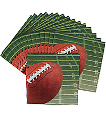 Set of 16 Football Luncheon Napkins #70/7283