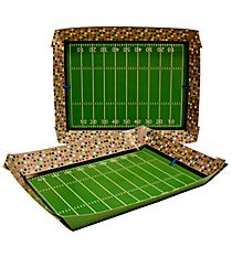 Set of 2 Football Stadium Paper Trays #3/7975