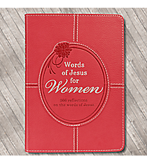 """Words of Jesus for Women"" LuxLeather Book #GB061"