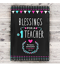 Blessings for a #1 Teacher Book #GB072