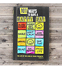 101 Ways to Have a Happy Day Book #GB075