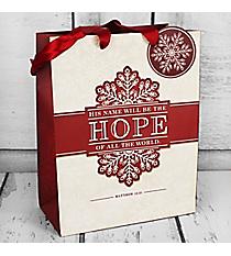 Matthew 12:21 'Hope' Medium Gift Bag #GBA108
