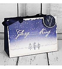 Glory to the Newborn King Small Gift Bag #GBA110