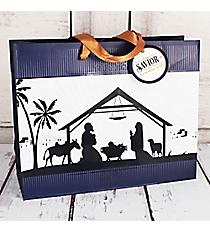 Luke 2:11 Nativity Large Gift Bag #GBA113