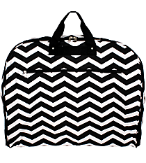 Black and White Chevron Garment Bag #GM40-165-B/W