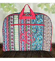 Bohemian Spirit with Fuchsia Trim Garment Bag #GM40-647-F