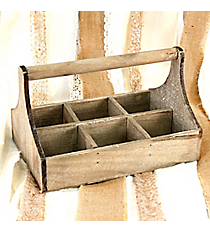 Rustic Organizing Tray with Handle #H3570