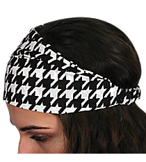 Houndstooth Headband #AH0040-JW