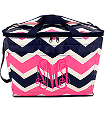 Pink and Navy Hi Tide Big Chill Tote #HI-BC-000124