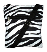 Mega Zebra with Black Trim Hipster #S10-2007