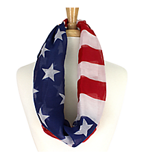 Stars and Stripes Infinity Scarf #IF0040-MR