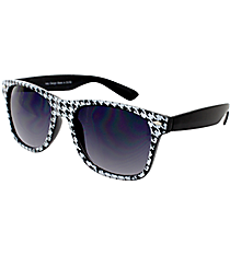 One Pair of Houndstooth Sunglasses #IN3057-R