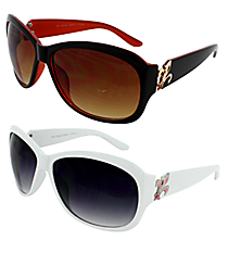 ONE PAIR OF DESIGNER LOOK SUNGLASSES #IN4011