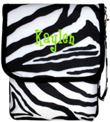 Mega Zebra with Black Trim iPad Case #IP-2007