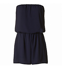 In The Pocket Romper, Navy #J14035-ST86-RK *Choose Your Size