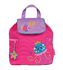 Stephen Joseph Children's Jellyfish Quilted Backpack #SJ-1001-44