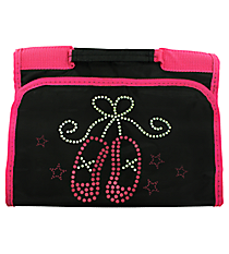 Ballet Slippers Small Roll Up Jewelry Bag #CB50-907