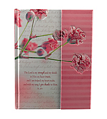 Psalm 28:7 Hardcover Flap Journal #JL161