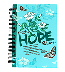 Colossians 1:4-5 Large Wirebound Journal #JLW007