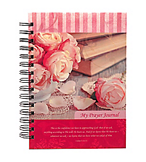 """My Prayer Journal"" Large Wirebound Journal #JLW020"