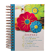 Psalm 9:1-2 Large Wirebound Journal #JLW022