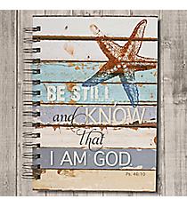 Psalm 46:10 Large Wirebound Journal #JLW031