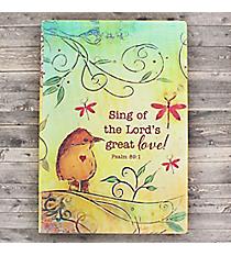 Psalm 89:1 Silken Flexcover Journal #JPP006