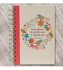 Song of Solomon 2:12 Small Wirebound Journal #JSF042042