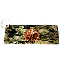 Leaf Camouflage Metal Keychain #KC-5267