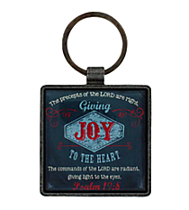 Joy Metal Keyring #KEP022