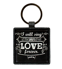 Love Metal Keyring #KEP025