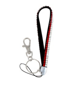 Red and Clear Sparkling Crystal Keychain #KC85X106FG6X1