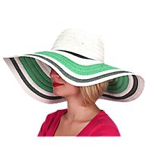 Ocean Mist Wide Brim Floppy Sun Hat #KI-40088-MT/WH/GY