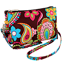 Whimsical Wonderland Crossbody Clutch #KPQ612-BROWN