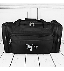 "Black Duffle Bag 23"" #LM423-BLACK"